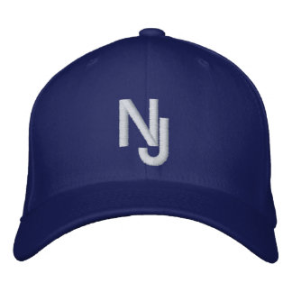 New Jersey Cap Embroidered Baseball Cap