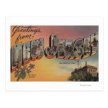 New Jersey (Capital del Estado/flor) Postales