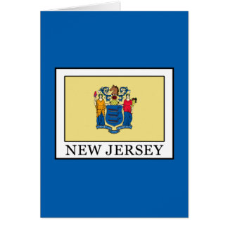 New Jersey Card