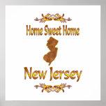 New Jersey casero dulce casero Poster
