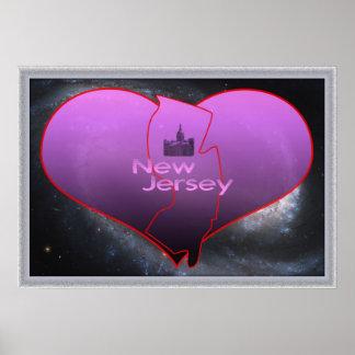 New Jersey casero Póster