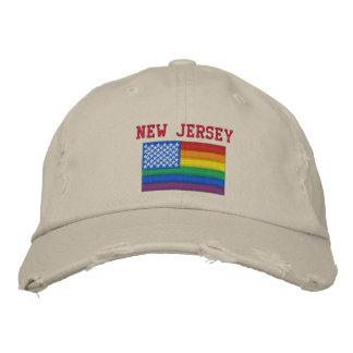 New Jersey celebra la gorra de béisbol de la igual