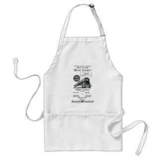 New Jersey Central Blue Comet Train Aprons