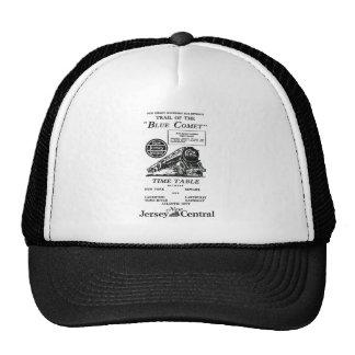 New Jersey Central Blue Comet Train Trucker Hat