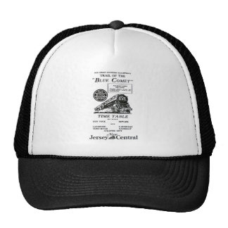 New Jersey Central Blue Comet Train Trucker Hat