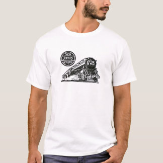 New Jersey Central Steam Engine T-Shirt