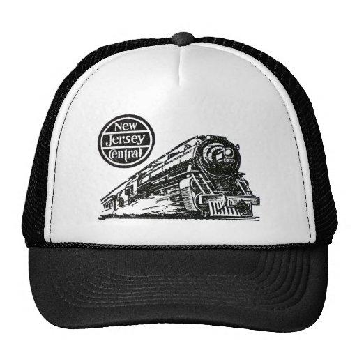 New Jersey Central Steam Engine Trucker Hat