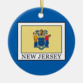 New Jersey Ceramic Ornament