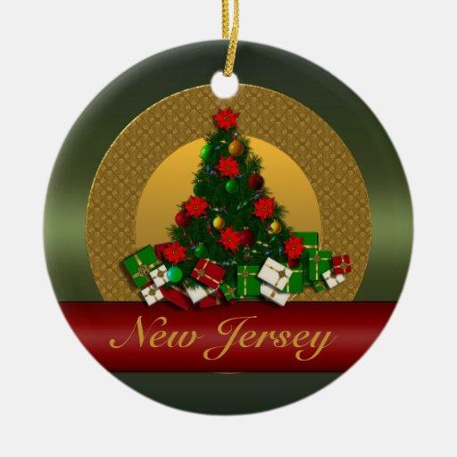 New Jersey Christmas Tree Ornament