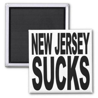 New Jersey chupa Imán Cuadrado