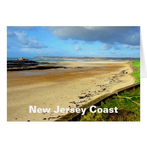 New Jersey Coast, NJ Greeting Card