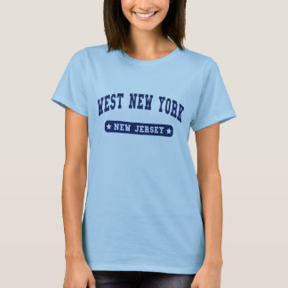 New Jersey College Style tee shirts