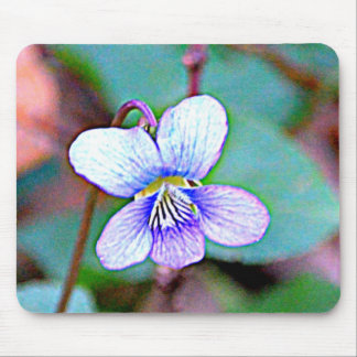 New Jersey Common Violet Mouse Pad
