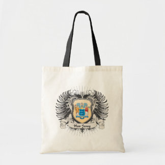 New Jersey Crest Budget Tote Bag