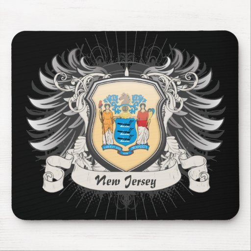 New Jersey Crest Mouse Pads