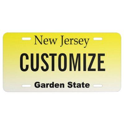 new york custom license plate zazzle com