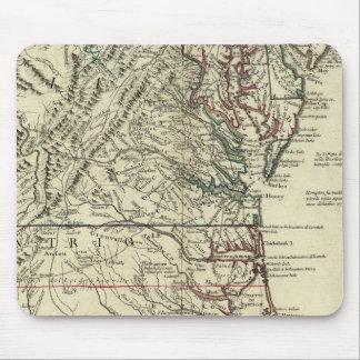New Jersey, Delaware, Virginia, North Carolina Mouse Pad