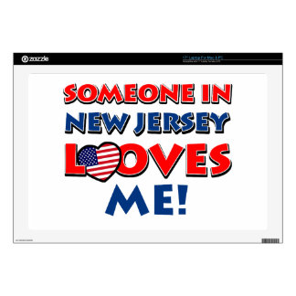NEW JERSEY designs Decal For Laptop