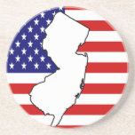 New Jersey Drink Coaster