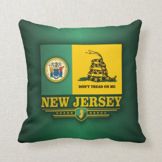 New Jersey (DTOM) Throw Pillow