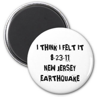 New Jersey Earthquake Refrigerator Magnets