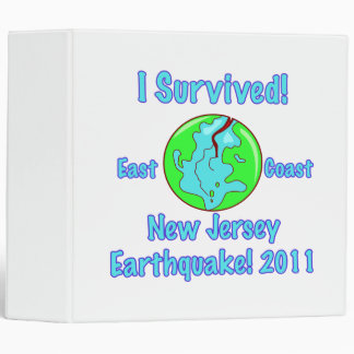 New Jersey Earthquake of 2011 Binder