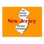 New Jersey: el fuertes sobreviven; el resto consig Tarjetas Postales