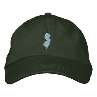 New Jersey Embroidered Baseball Hat