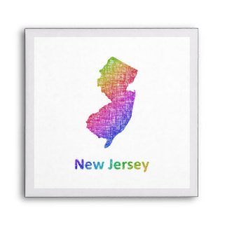 New Jersey Envelope