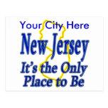 New Jersey es el único lugar a ser Tarjetas Postales