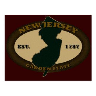 New Jersey Est. 1787 Postcard
