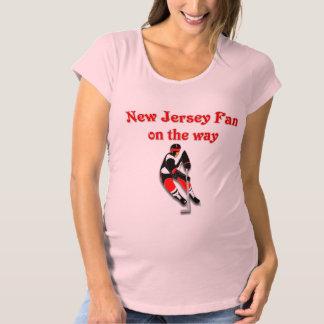 New Jersey Fan on the way Maternity T-Shirt