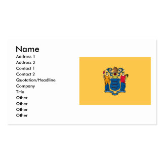 New Jersey Flag Double-Sided Standard Business Cards (Pack Of 100)