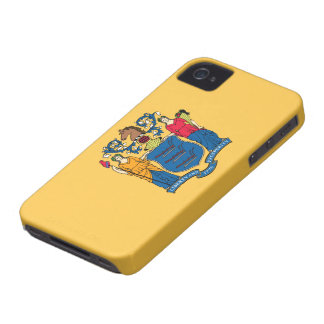 New Jersey Flag iPhone 4 Cover