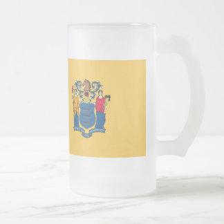 New Jersey Flag Coffee Mugs