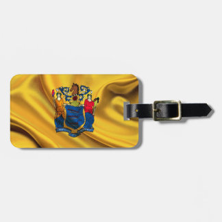 New Jersey Flag Fabric Tag For Luggage