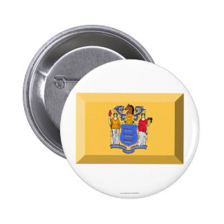 New Jersey Flag Gem Pin