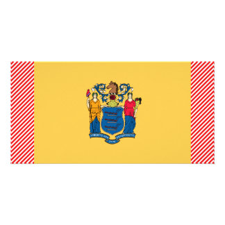 New Jersey Flag Photo Card