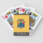 New Jersey Flag Playing Cards Bicycle Playing Cards