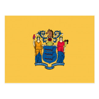 New Jersey Flag Postcard