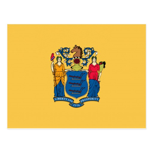 New Jersey Flag Post Card