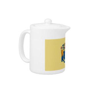 New Jersey Flag Teapot