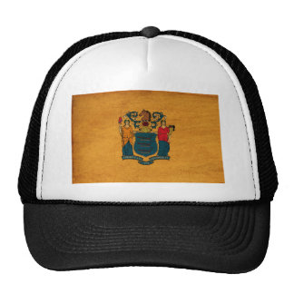 New Jersey Flag Trucker Hat