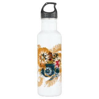 New Jersey Flag Water Bottle