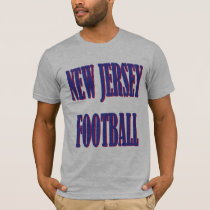 New Jersey Football T-Shirt