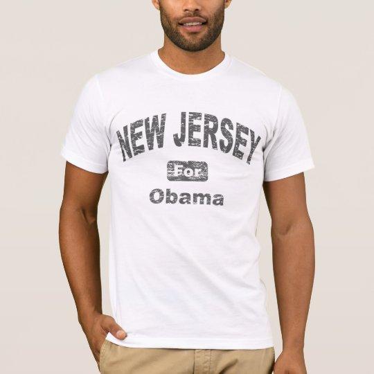 New Jersey for Barack Obama T-Shirt