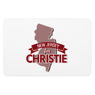 NEW JERSEY FOR CHRISTIE -.png Rectangular Photo Magnet