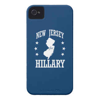 NEW JERSEY FOR HILLARY Case-Mate iPhone 4 CASES