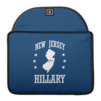 NEW JERSEY FOR HILLARY SLEEVE FOR MacBooks