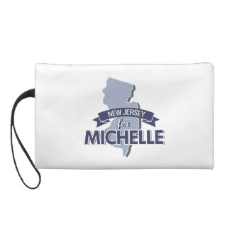 NEW JERSEY FOR MICHELLE -.png Wristlet Purse